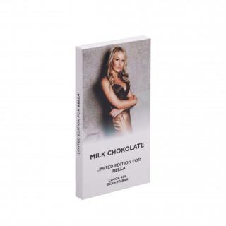 Фото на шоколаде