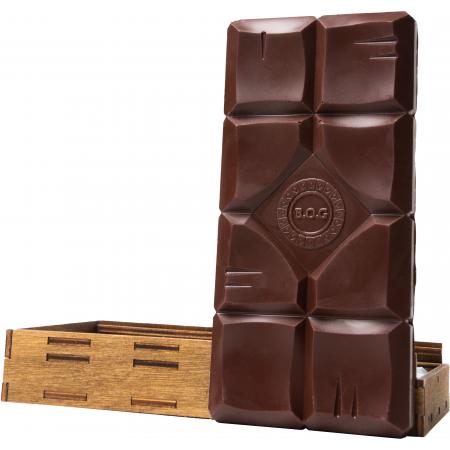 "Плитка шоколада ""Темный шоколад"""