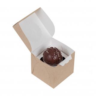 Мини подарок - 1 шоколадный шар и сюрприз.(драже)