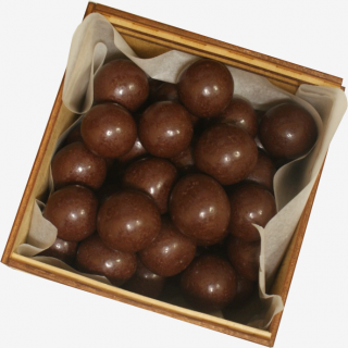 Марципан в темном шоколаде