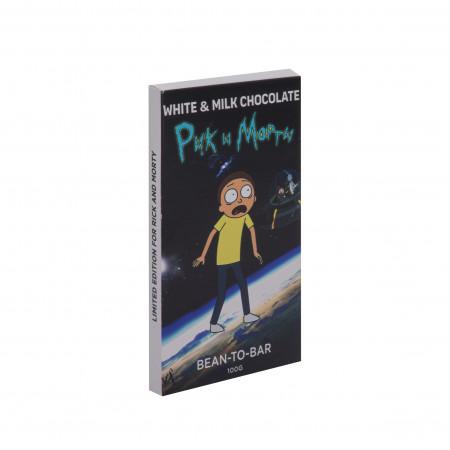 """Купить плитку шоколада""""Рик и Морти"""""""