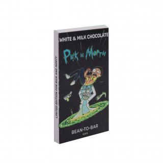 """Плитка шоколада """"Рик и Морти"""""""